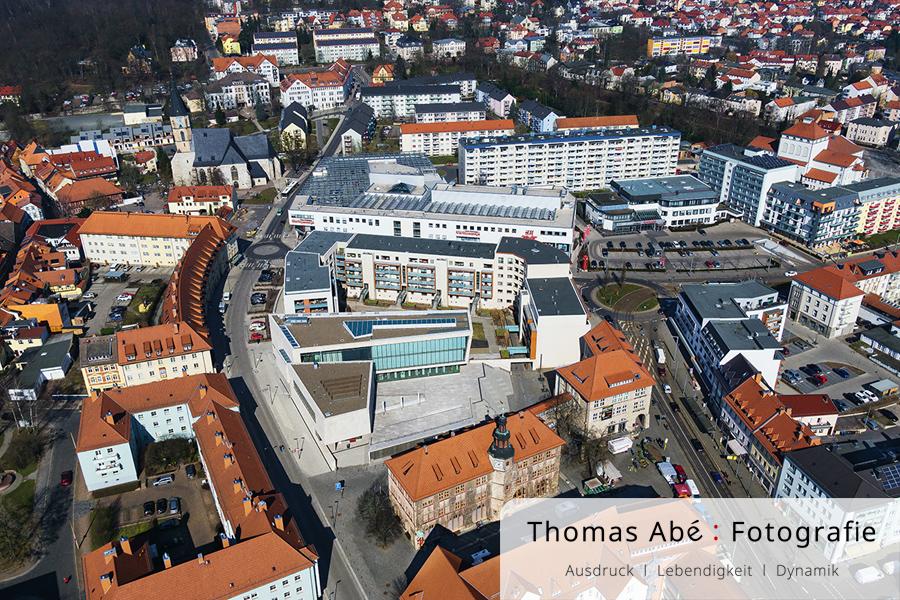 Nordhausen als Luftbild